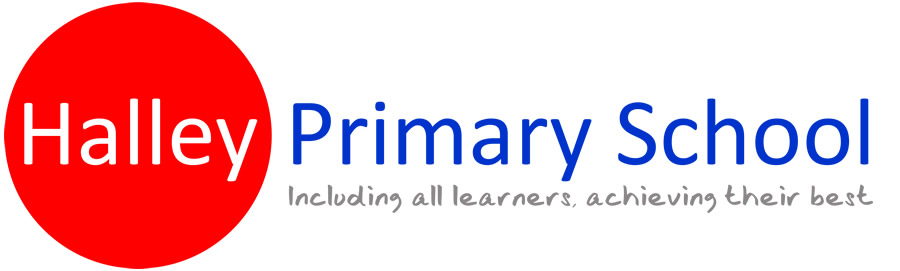 Halley Primary School Logo